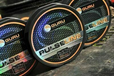 Guru Pulse Line Mono Fishing Line 300m Spools - All Sizes • 8.99£