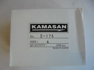 Kamasan B175 Trout Hooks For Bait Or Fly Tying Size 6 X 25 Hooks.our Most Popula • 2.99£