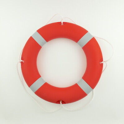 Lifebuoy Ring 58cm SOLAS 1.5kg Yacht Boat River Canal Lake Safety By MiDMarine • 24.80£