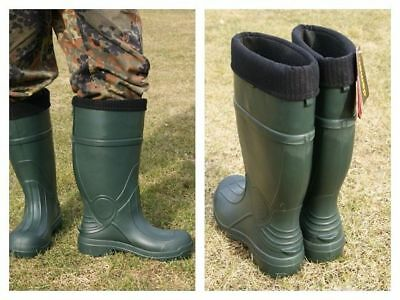 Mens Wellies | Ultra Light Demar Wellies | Demar Predator XL Wellies Size 8 - 12 • 26.99£