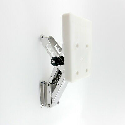 Stainless Steel Auxiliary Outboard Motor Bracket Boat Max 20hp/30kg By MiDMarine • 85.99£