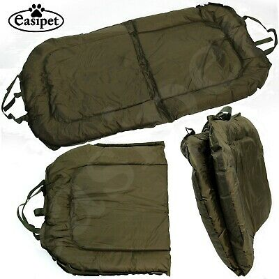 Carp Fish Fishing Beanie Mat Large Padded Landing Unhooking 110cm X 60cm Tackle • 19.99£