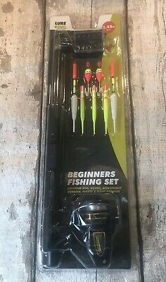 LURE KING 1.45m FISHING ROD / BEGINNERS FISHING SET - BNWT  • 8.99£