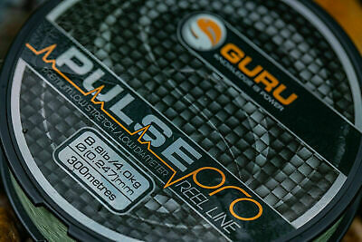 Guru Pulse Pro Line Mono Fishing Line 300m All Sizes Available NEW • 11.55£