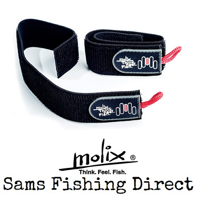 Molix Elastic Rod Wraps Protection Perch Lure Fishing • 10.95£