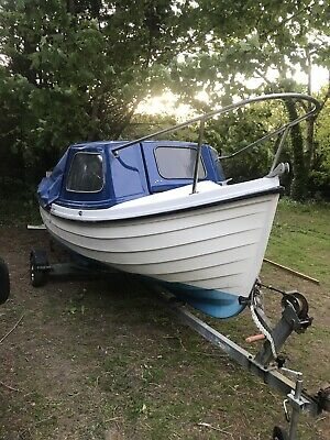 Orkney Longliner Fishing Boat With Trailer • 3,000£