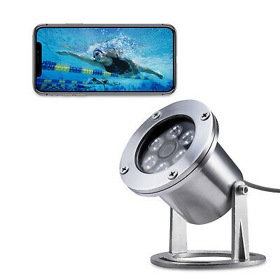 304 Stainless Steel 1440P 5MP POE IP Underwater Video Waterproof Camera • 168£