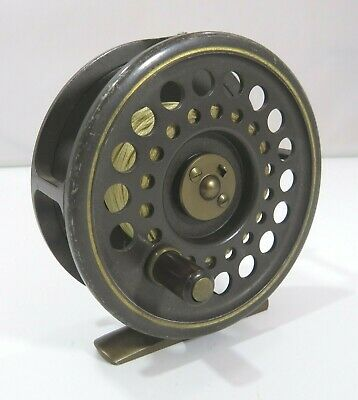Hardy Trout Fly Fishing Reel 'The Golden Prince' 7/8 • 125£