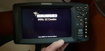 Humminbird 998c SI Plotter Fishfinder 9  Boat Side Imaging • 600£