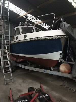 Used Fishing Boat And Trailer • 8,500£