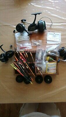Vintage Fishing Items. Floats And Reels Etc • 8£
