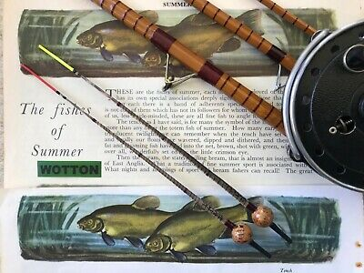 Traditional Handmade Pheasant Quill/cork Tench Float Red And Yellow Tips X 2 • 7.99£