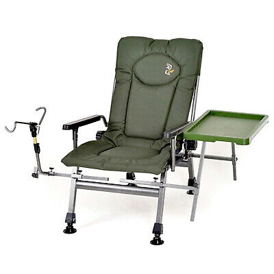 SPECIAL CHAIR // CARP Armchair Folding Steel Fishing Accessories Chair- F5R ST/P • 93.49£