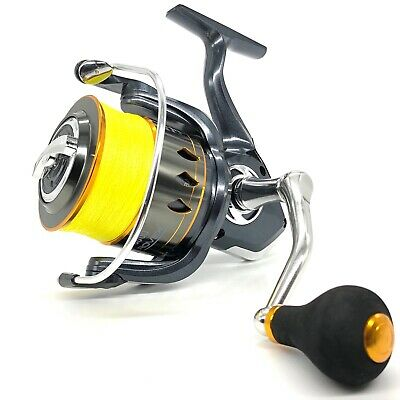 Rovex Power Spin 8000 Big Pit Spod And Marker Reel With 150yds 30lb Braid • 34.99£