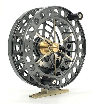 """J W Young Super Lightweight 4.5x1"""" Centrepin Reel - With Free 150m Of 4lb Line • 279.99£"""