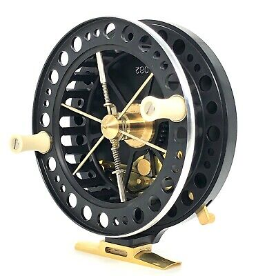 """J W Young River Specialist 4.5x1"""" Centrepin Reel With Free 150m 4lb Line Offer • 359.99£"""