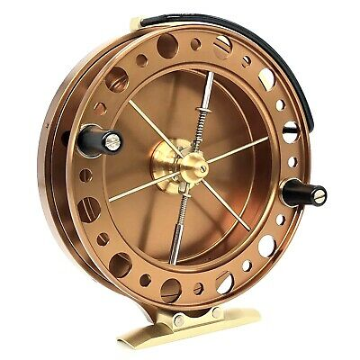 """J W Young Purist II Centrepin Reel 4.5x3/4"""" With Free 150m 4lb Float Line  • 274.99£"""