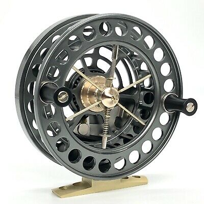 """J W Young Super Lightweight 4x3/4"""" Centrepin Reel - With Free 150m Of 4lb Line • 264.99£"""