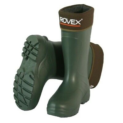 Thermal Wellington Boots UK Size 12 - Fleece Lined, Fishing, Hunting & Walking. • 29.99£