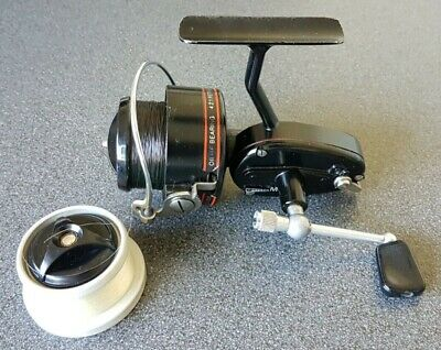 Garcia Mitchell 300A Fishing Reel With Spare Spool In Excellent Condition • 21£