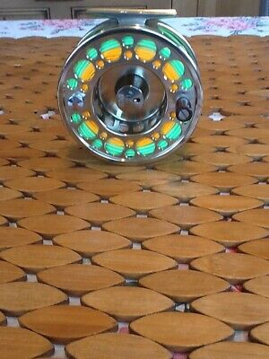 TCA Vetern T22 Salmon Fly Reel With Line • 36£
