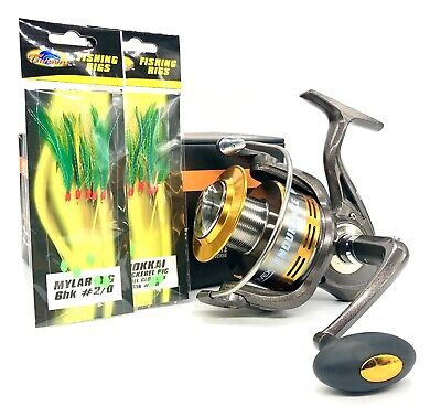 Rovex Endurance 8000 Beach Reel - Surf Fishing Long Cast Surf Reel, Super Strong • 29.99£
