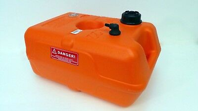 Hulk  22Litre  Outboard Plastic Fuel Tank With Gauge Boat Fishing Yacht ULB • 31.99£