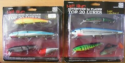 Matt Hayes Adventure Top 20 Lures - Lure Collection 02 And 04 Total 8 Lures • 8.99£
