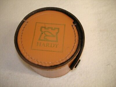 Hardy Block Leather Round Case For Reel Up To 3 Inch  • 20£
