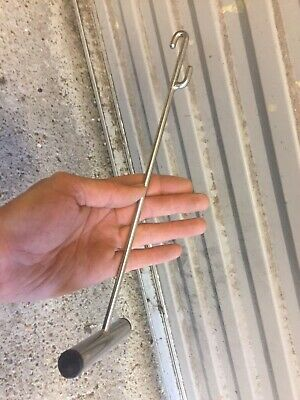 Stainless Steel Sea Boat Fishing T Bar Disgorger Hook Removal • 3.20£