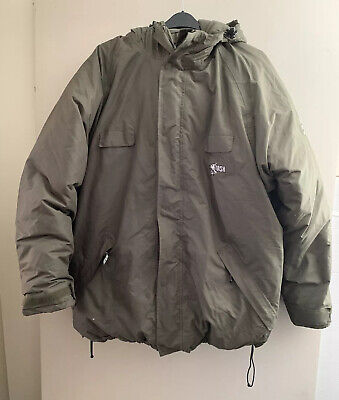 Nash ZT Feather And Down Filled Fishing Jacket Size XXL • 40£