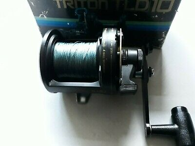 Shimano TLD 10, Japanese Sea Fishing Multiplier Reel, Serviced, With Box & Braid • 84.99£
