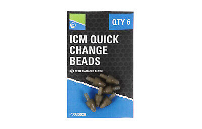 Preston ICM Inline Quick Change Bead • 2.99£
