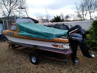 Fishing/Dive Boat 17' Wilson Flyer Type DEPOSIT TAKEN • 4,750£