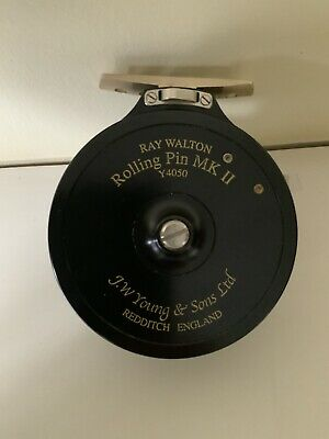 JW Young Ray Walton Rolling Pin Mk 2 (Y4050) Fishing Reel NEVER USED • 199£