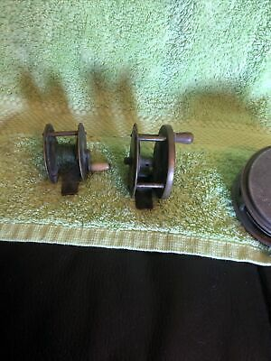 Vintage Brass Fishing Reel • 6.50£