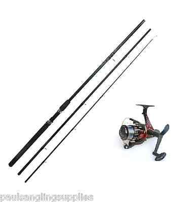New 12ft Float Fishing Rod And Reel With Line • 33.22£