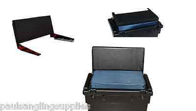 Fishing Team  Seat Tackle Box  Back Rest With  Fixings / Brackets  • 33.22£