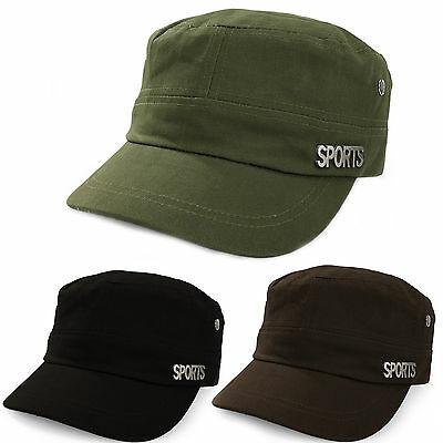 Sport Military Hat Cap Army Cadet Men Women Casual BASEBALL Size Adjustable  • 4.99£