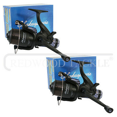 2 X Shakespeare 6000 Beta Freespool Carp Fishing Reels Bait,Running Switch  • 35.14£