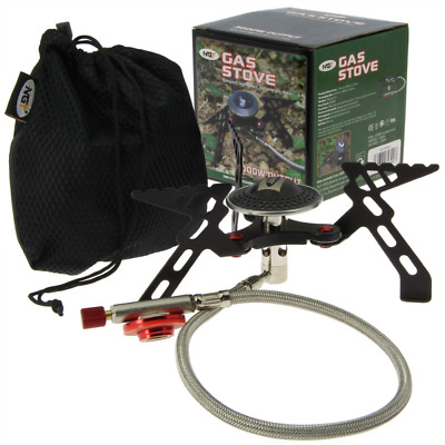 Fishing Gas Portable Stove Compact High Output 3000w Camping Bivvy Cooker  • 20.42£