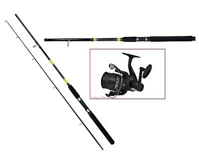 Shakespeare Beta Spinning Spin Fishing Rod 8 Ft & Shakespeare Rd Reel & Line  • 38.88£