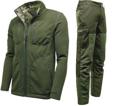 Reversible Waterproof Jacket Trousers Hunting Fishing Walking • 49.95£