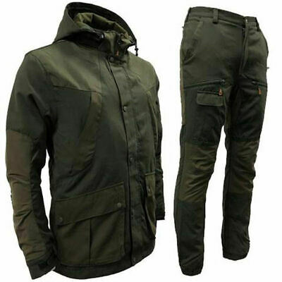 Mens Waterproof Jacket Trousers Walking Hiking Fishing • 69.95£
