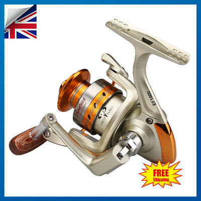 Fishing Reel Left/Right Saltwater Freshwater Spinning Reels 12Ball Bearings • 11.99£