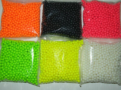 RIG MAKING BEADS SEA GAME COURSE FLOAT FISHING 100 200 8mm 5mm ALL COLOURS • 1.70£