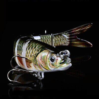 1 Pcs Soft Lure Wobblers Artificial Bait Fishing Lures Sea Bass Swim 26g/14 Cm • 6.45£