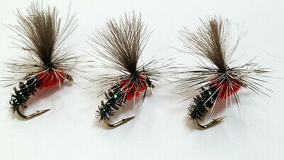 3 X CDC SPECIAL MINI KLINKHAMMERS DRY TROUT FLIES Sizes10,12,14,16 Available  • 1.35£
