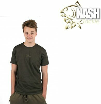 Nash Fishing T-shirt, Green • 12.99£