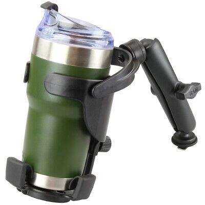 RAM Level Cup XL 32oz Drink Holder With RAM Track Ball Base • 80.99£